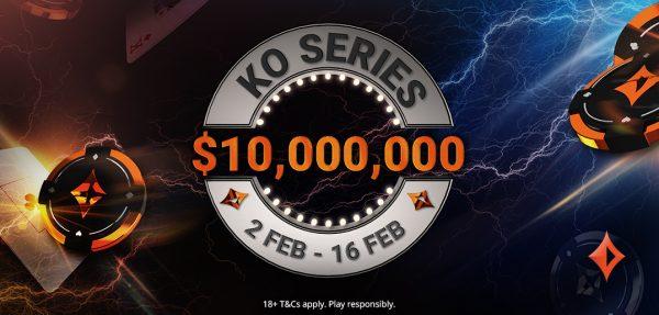 $10M Guaranteed KO Series Returns From February 2