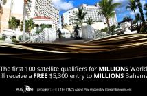 MILLIONS World has $10 million guranteed