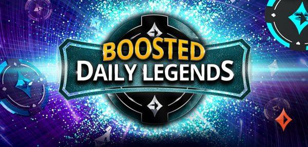 Boosted Daily Legends, nova promoção do partypoker, distribui mais de $400 mil por dia