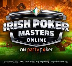 Satélite distribui 15 vagas para ME do Irish Poker Masters neste sábado: classifique-se pagando (quase) nada