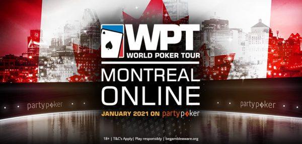 Com $ 2 milhões GTD, WPT Montreal Online estreia no domingo; classifique-se a partir de $ 0.01
