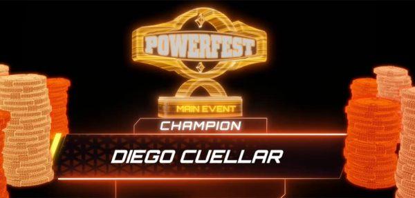Diego Cuellar Wins the 2021 POWERFEST Main Event