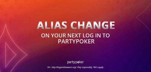 Смена никнеймов на partypoker произойдёт 11 мая
