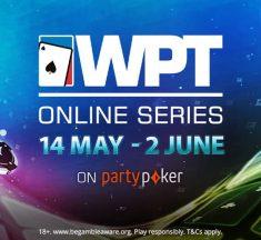 Com Main Event de $ 3 milhões Gtd, WPT Online estreia em maio; é possível se classificar a partir de $0,01