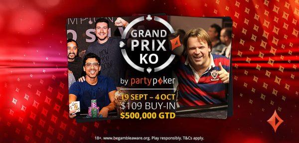 ¡Este domingo empieza el Grand Prix en partypoker!